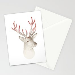 Not so deer Stationery Cards