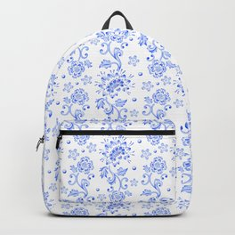 Chinoiserie Calico Backpack
