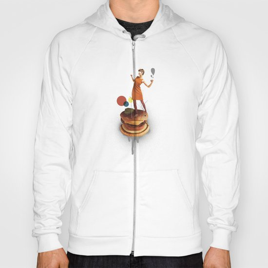 These Burgers Are Crazy | Collage Hoody