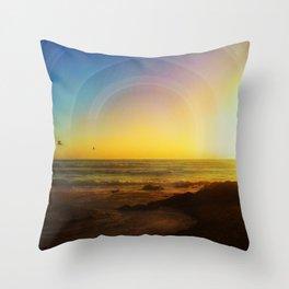 Birds Seeking Throw Pillow