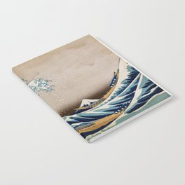 Under the Great Wave by Hokusai Notebook