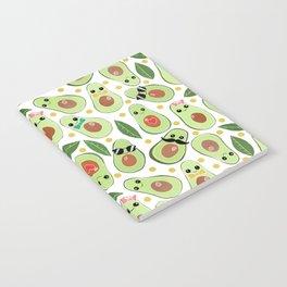 Stylish Avocados Notebook