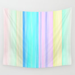 Summer Stripes Wall Tapestry