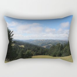 View on Mount Tamalpais Rectangular Pillow