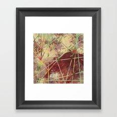 autumn reflections Framed Art Print