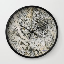 TEXTURES -- Riverstone 2 Wall Clock