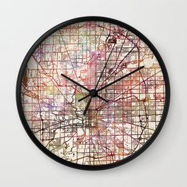 Indianapolis Wall Clock
