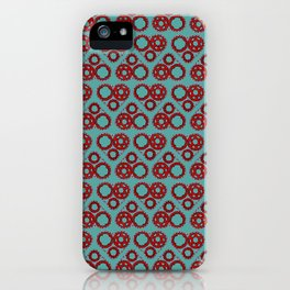 Bicycle Gear Heart iPhone Case