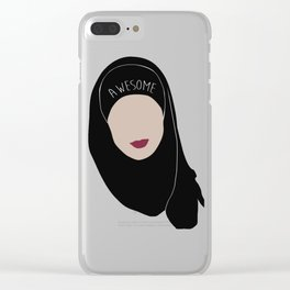 Sana Bakkoush - AWESOME Clear iPhone Case