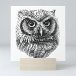 Intense Owl G137 Mini Art Print