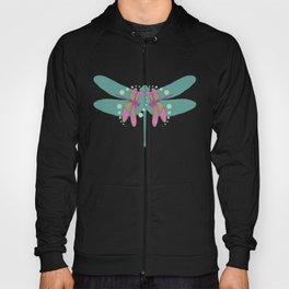 pattern with dragonflies 4 Hoody