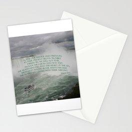 God is our Refuge Stationery Cards