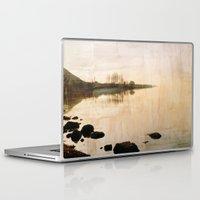 lake Laptop & iPad Skins featuring lake by laika in cosmos
