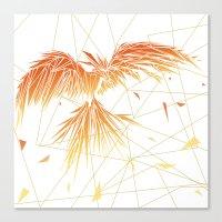 phoenix Canvas Prints featuring Phoenix by ARCHIGRAF
