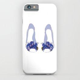 Hydrangea Shoes iPhone Case