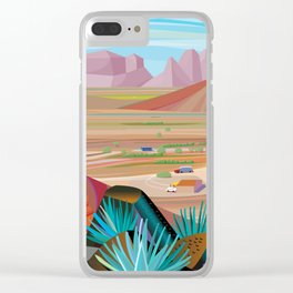 La Pimeria, West Phoenix Clear iPhone Case
