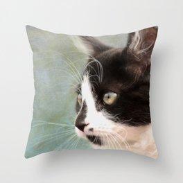 The Ships Cat Throw Pillow
