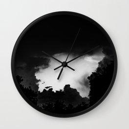 break through Wall Clock