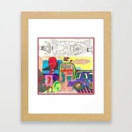 mind link Framed Art Print