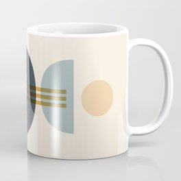 Sapphire Abstract Half Moon 1 Coffee Mug