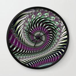 Fractal Abstract 84 Wall Clock