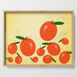 Mandarin Oranges Serving Tray