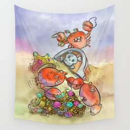 Buried Treasure Wall Tapestry