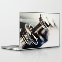 trumpet Laptop & iPad Skins featuring Tough Trumpet... by Bob Daalder