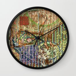 Driving Out Miss Martineau (1) Wall Clock