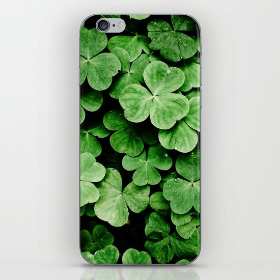 Clover Patch iPhone & iPod Skin