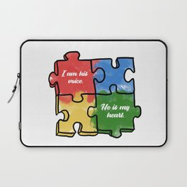 Autism Child Love Puzzle Asperger-Syndrome Gift Laptop Sleeve