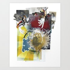 Wingless Angel - Minga Art Print