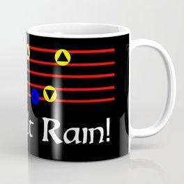 Make It Rain! - Song Of Storms (The Legend Of Zelda: Ocarina Of Time) Coffee Mug