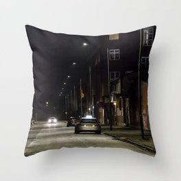 Sleepless nights Throw Pillow