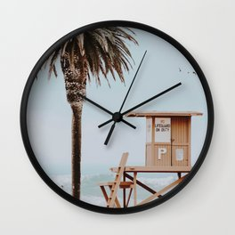 no lifeguard Wall Clock