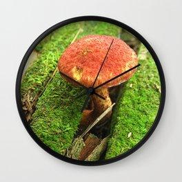 Mushroom Q Wall Clock