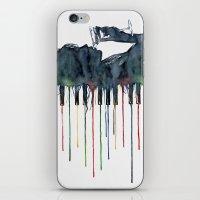 piano iPhone & iPod Skins featuring Piano by Veronika Neto