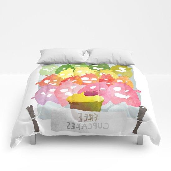 Free Cupcakes Comforters