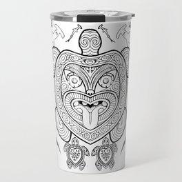 Nga mea o te moana (Creatures of the sea) Travel Mug