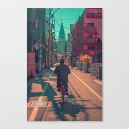 TOKYO BIKE RIDE Canvas Print