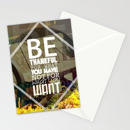 Be.. Stationery Cards