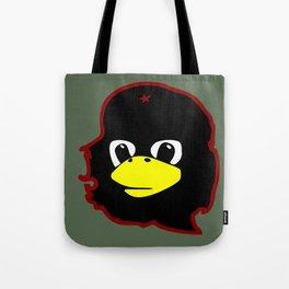 Linux tux Penguin Che guevara guerilla Tote Bag