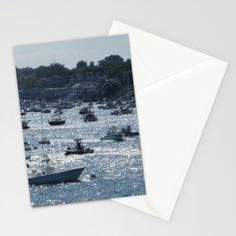 Sunlit Harbor Stationery Cards