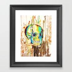 skull it Framed Art Print