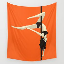 pole dancer Wall Tapestry