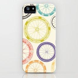 bike wheels iPhone Case
