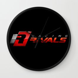 Racing Rivals Wall Clock