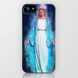 The Virgin Mary iPhone Case