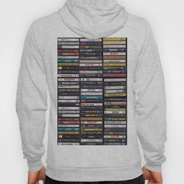 Old 80's & 90's Hip Hop Tapes Hoody