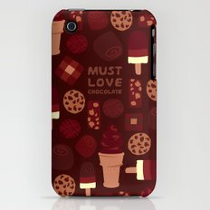 Must Love Chocolate iPhone (3g, 3gs) Slim Case